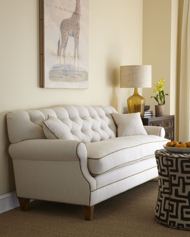 Key City Furniture Ricci Tufted Back Sofa Horchow