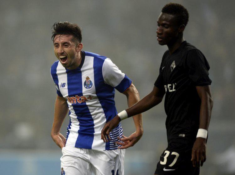FC Porto bate Académica e é o novo líder do campeonato - PÚBLICO  Héctor Herrera marcou o mais bonito golo do encontro