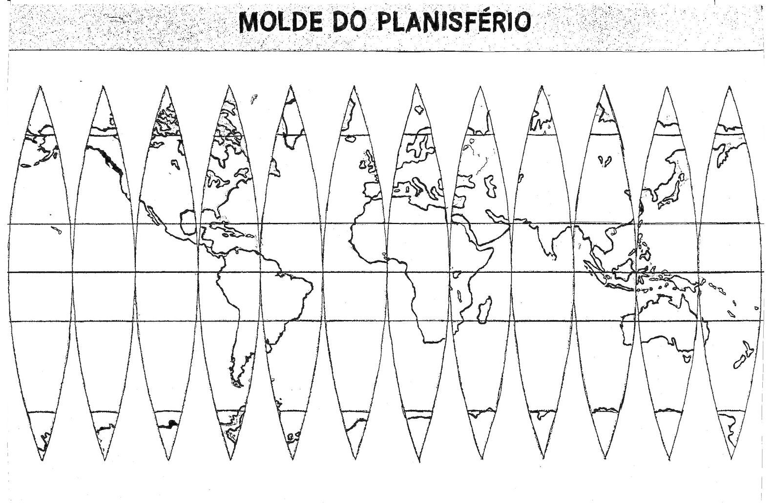 Blogão Do Lobão Produção De Um Globo Terrestre โลก Globo