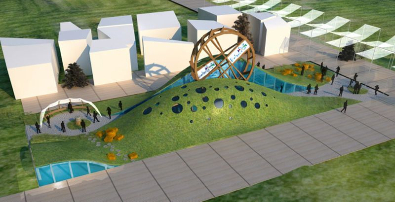 Belarus Will Be Showcasing The Wheel of Life at Expo Milan 2015 #pavilion #design trendhunter.com