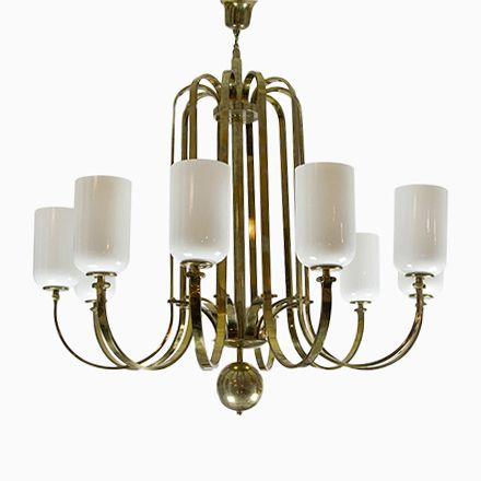 Vintage Art Deco Messing Kronleuchter Jetzt Bestellen Unter: ...