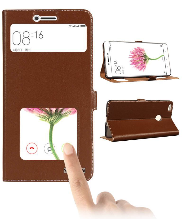 For Xiaomi Mi Max Invisible Magnet Genuine Leather Case For Xiaomi Mi Max Mobile Phone Bag Flip Stand Cowhide Leather Case #Affiliate