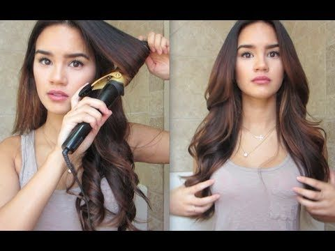 How To Curl Your Hair Youtube Curls For Long Hair How To