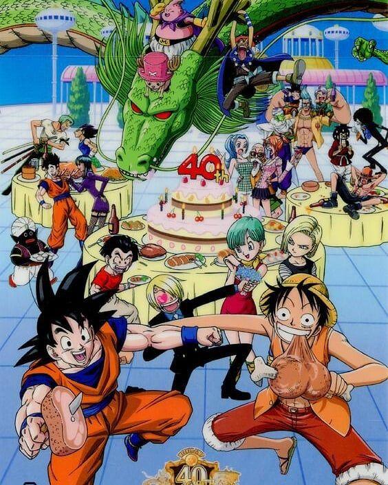 Seems Master Roshi Is Enjoying Personajes De Dragon Ball Personajes De Goku Personajes De Anime