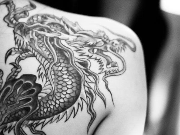 Artistic Moving Japanese Dragon Tattoo Tattoos Asian Dragon Tattoo Dragon Tattoo