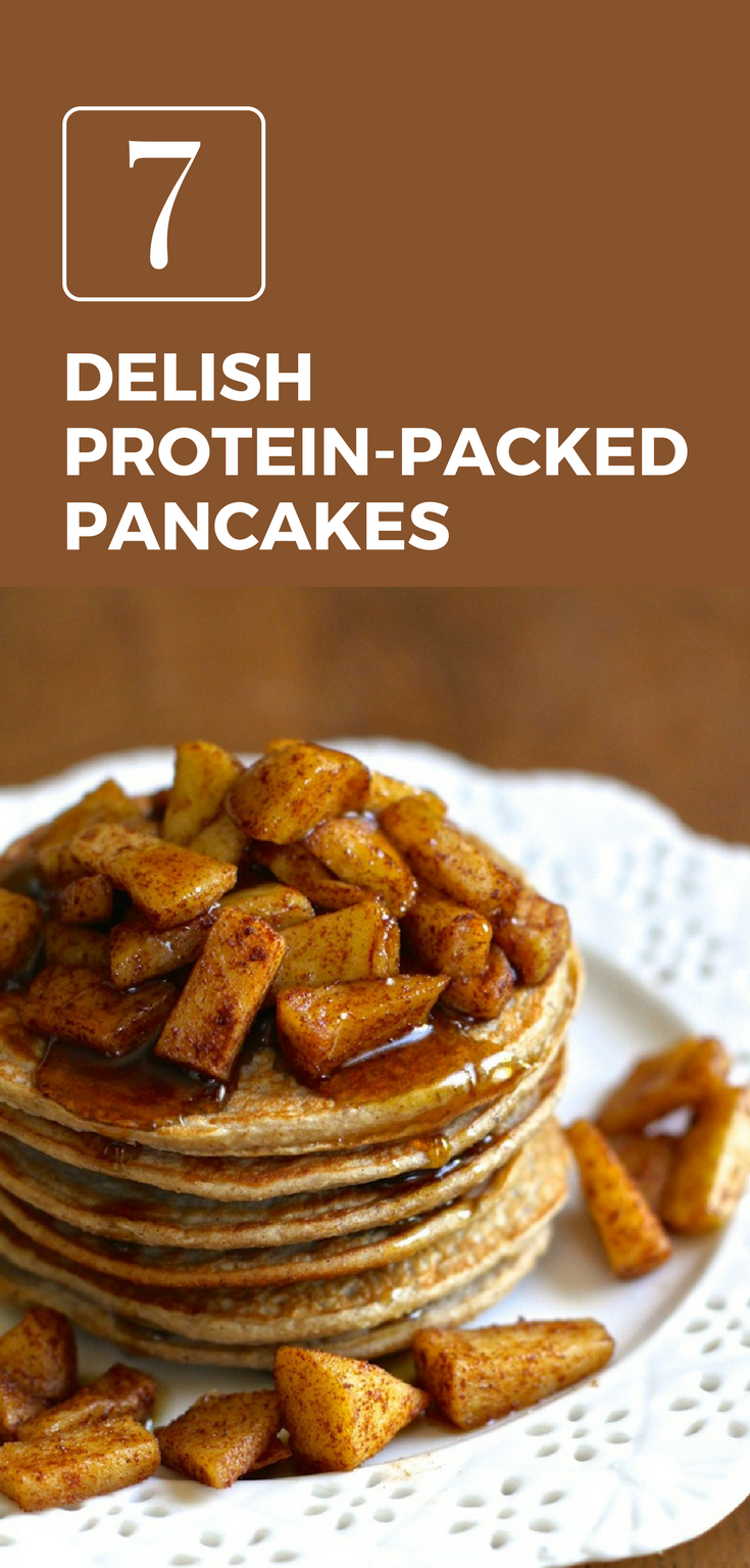 Watch 7 Protein-Packed Pancake Recipes That Use 5 Ingredients Or Less video