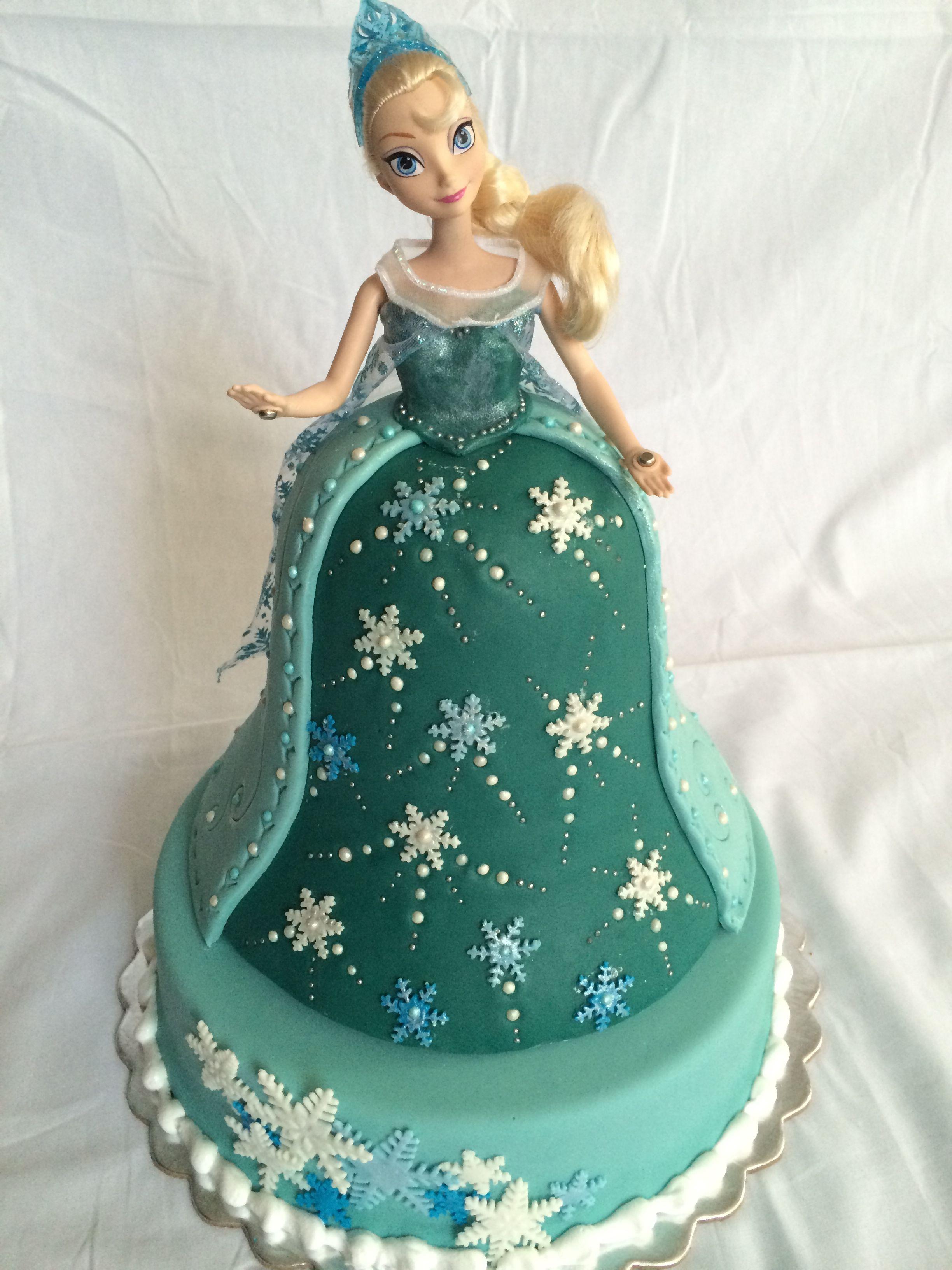 Elsa Cake de Mis Dulces Tentaciones Mary, Mary Atencio