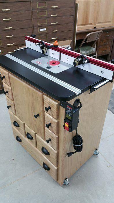 Router Table Maquinas Para Carpinteria Mesas De Trabajo Carpinteria Muebles De Carpinteria