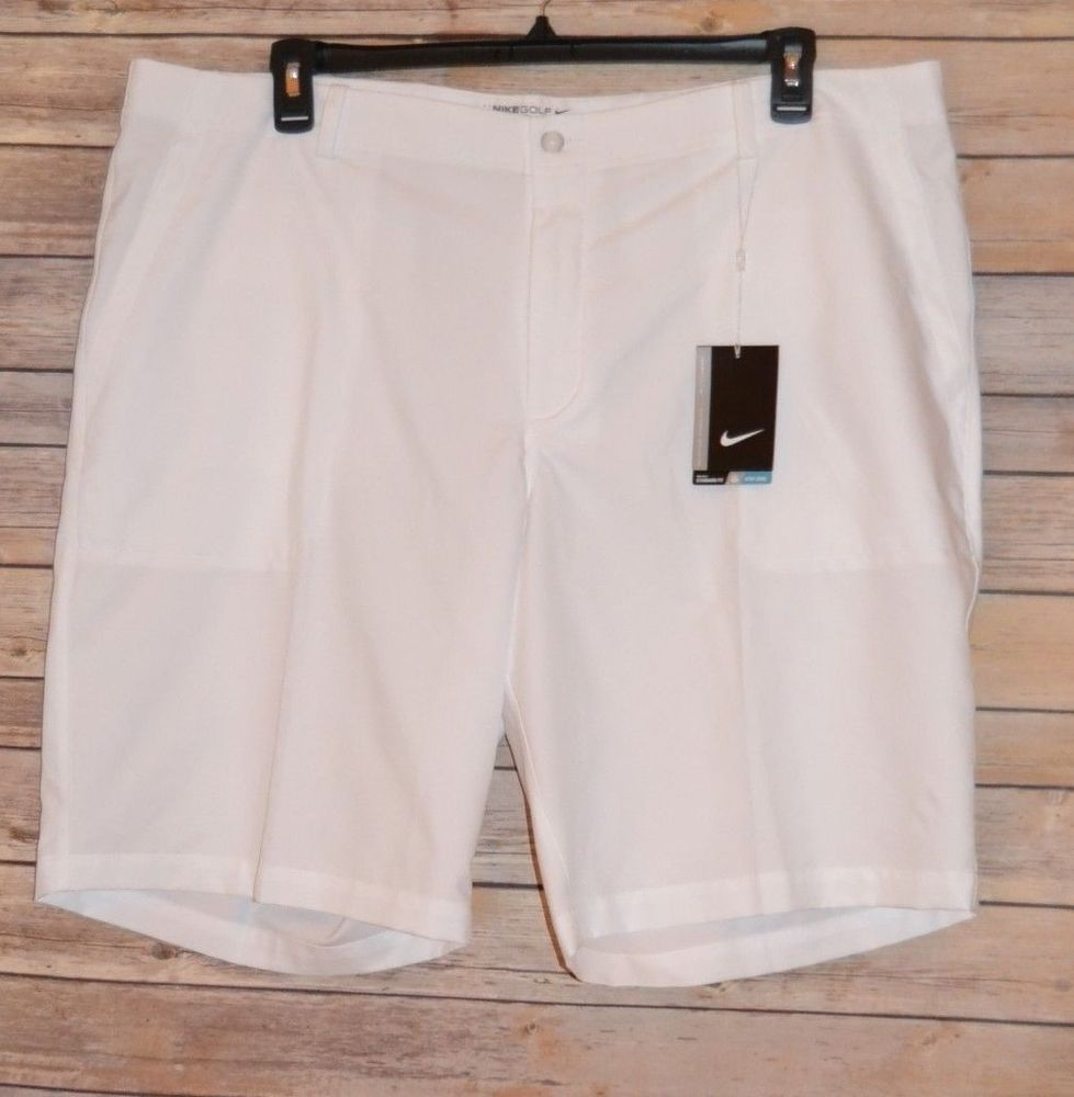 adyacente borroso Colectivo  MENS NIKE GOLF, DRI-FIT GOLF SHORTS SIZE: 42 COLOR: WHITE ULTRA LIGHTWEIGHT  #NikeGolf #GolfAthletic | Mens white shorts, Mens golf outfit, Golf shorts