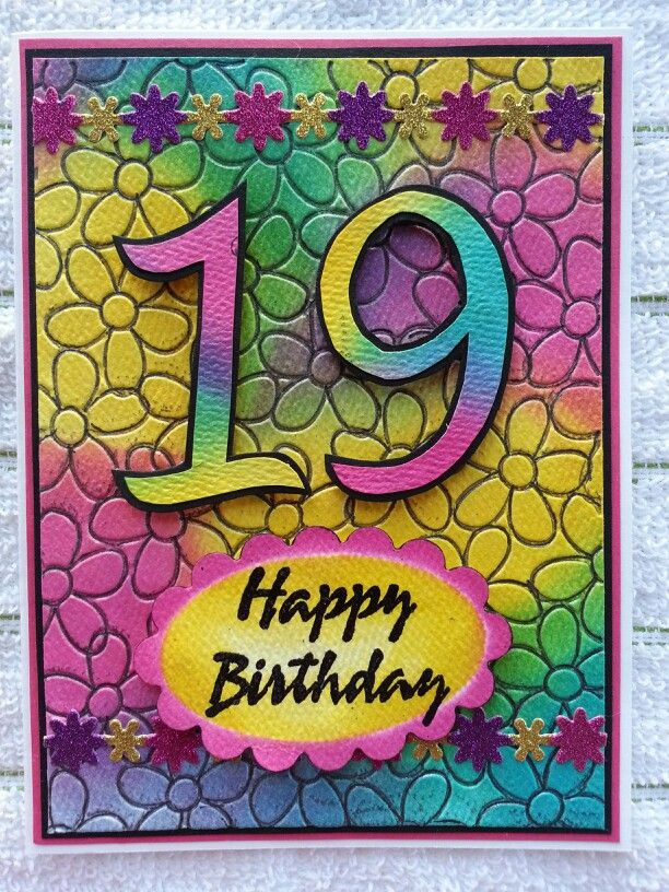 Pin By Pam Beket On Kids Age Birthday Cards Card Making Birthday Handmade Birthday Cards Cards Handmade