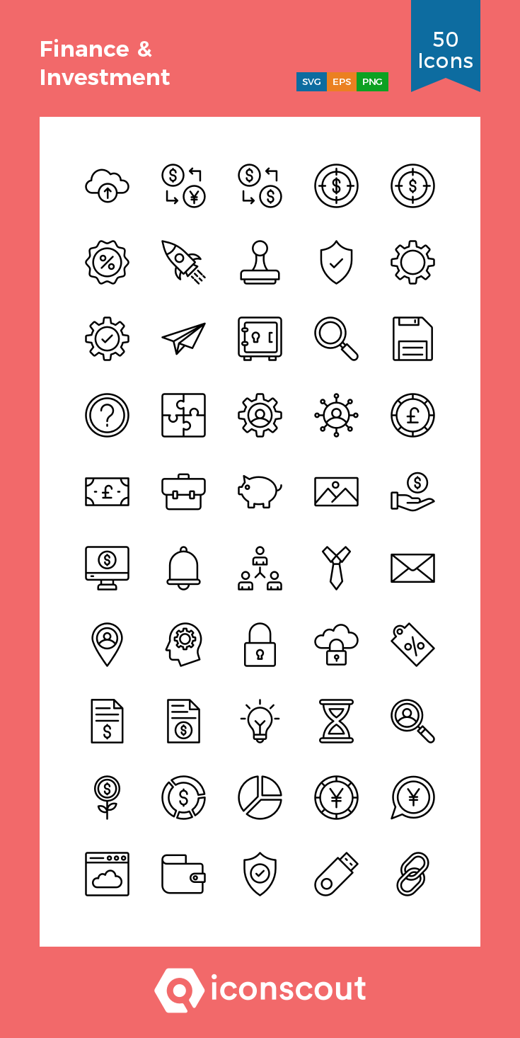 Download Finance Investment Icon Pack Available In Svg Png Eps Ai Icon Fonts Icon Pack Line Icon Icon