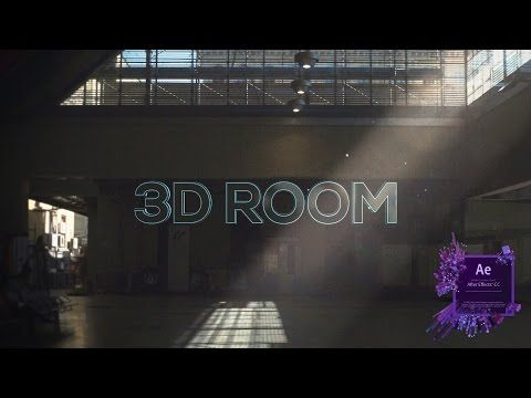 After Effects How To Make A 3d Room From A 2d Image Tutorial Videomontazh Dizajn Video