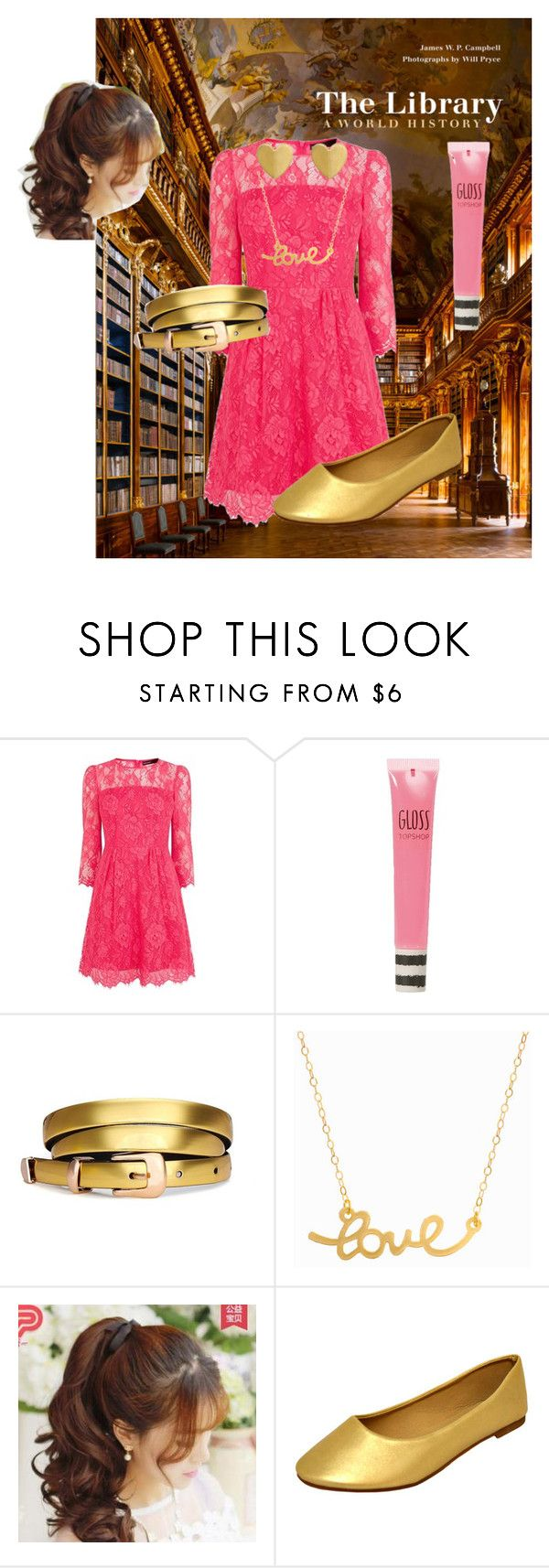 """""""University Student"""" by marz-kij00 on Polyvore featuring Karen Millen, Topshop, Minnie Grace, Pin Show, cute, college, stylish, library and student"""