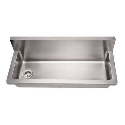 Whitehaus Collection Noah 44 X 13 25 Wall Mounted Utility Sink
