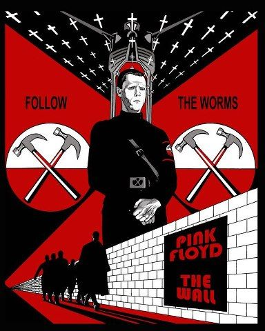 Pink Floyd The Wall Movie Poster Art Pinterest Pink Floyd