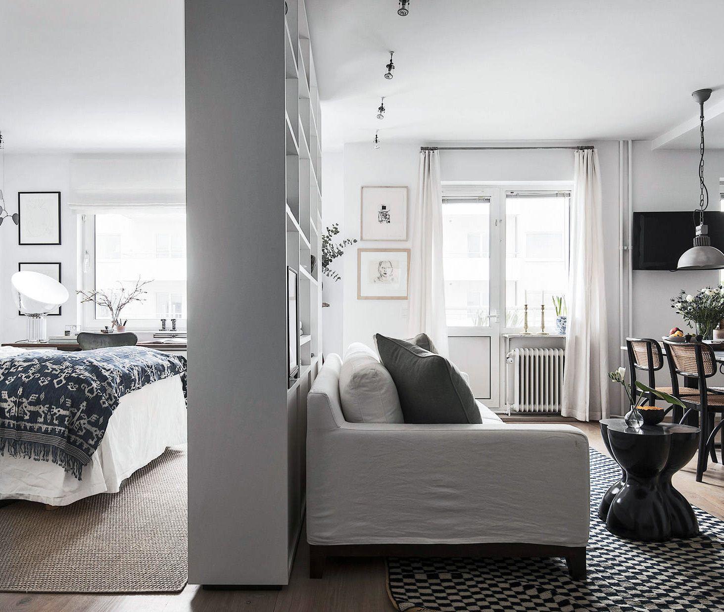7 fina compact living-lösningar för ett litet sovrum | Lofts ...