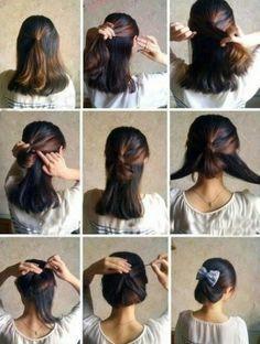 Peinados paso a paso para cabello corto
