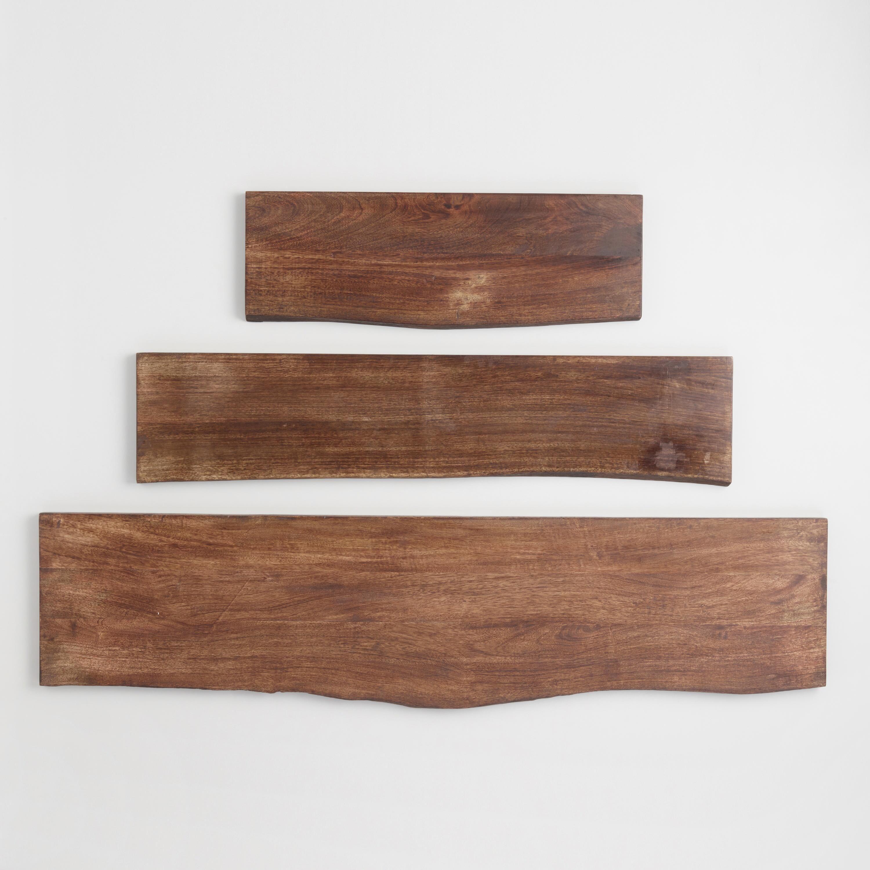 Organic Edge Wood Mix & Match Shelves