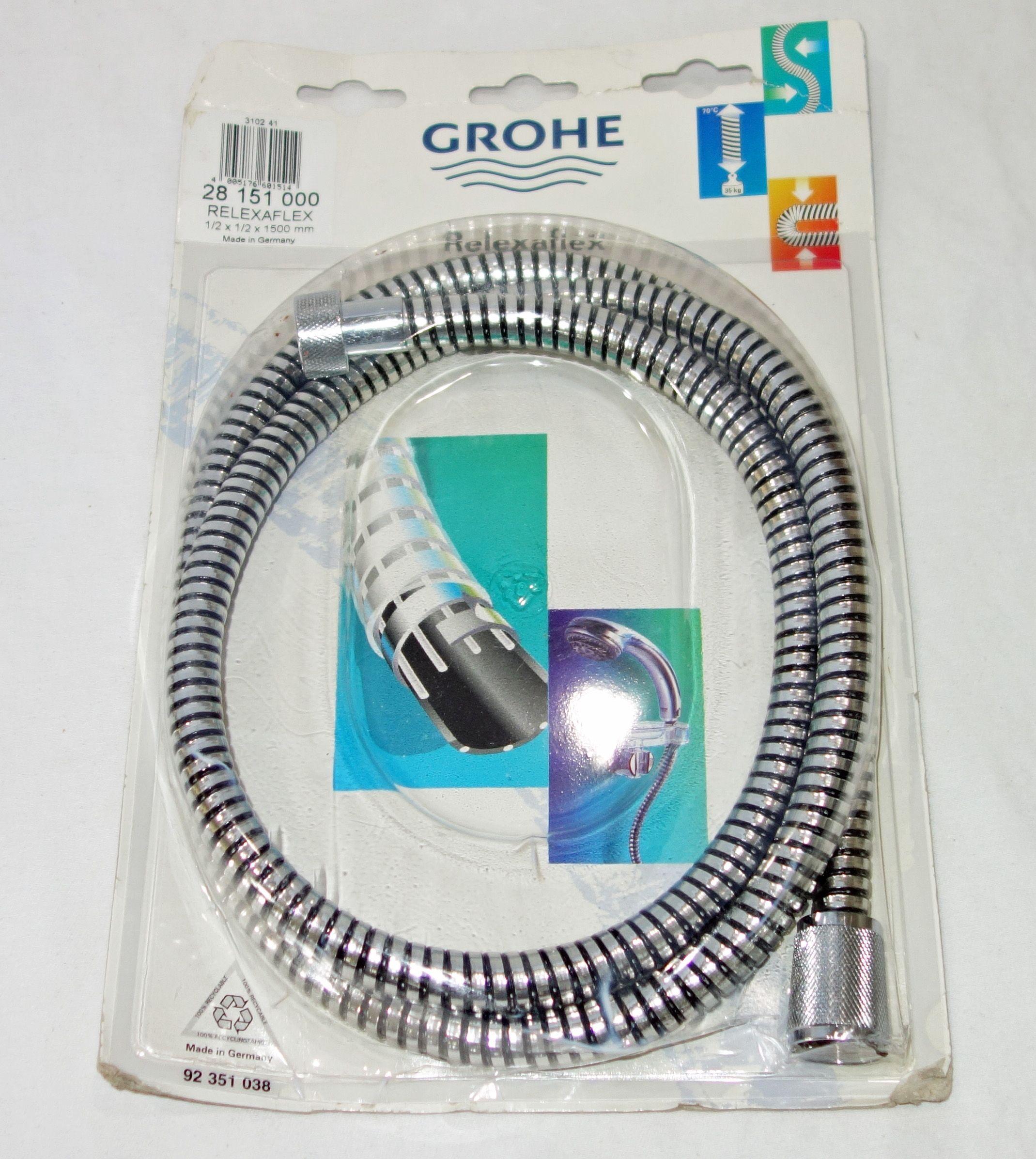 Grohe Relexaflex Shower Hose - Starlight Chrome - 28151000 ...