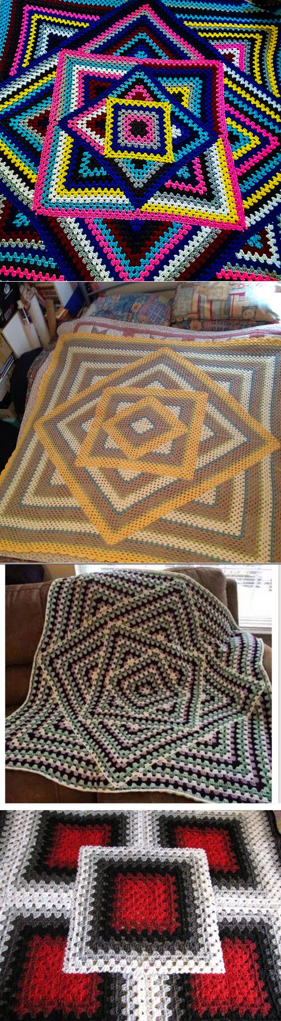 Вязание,плетение,вышивка для дома | Pinterest | Decken, Häkeln und ...