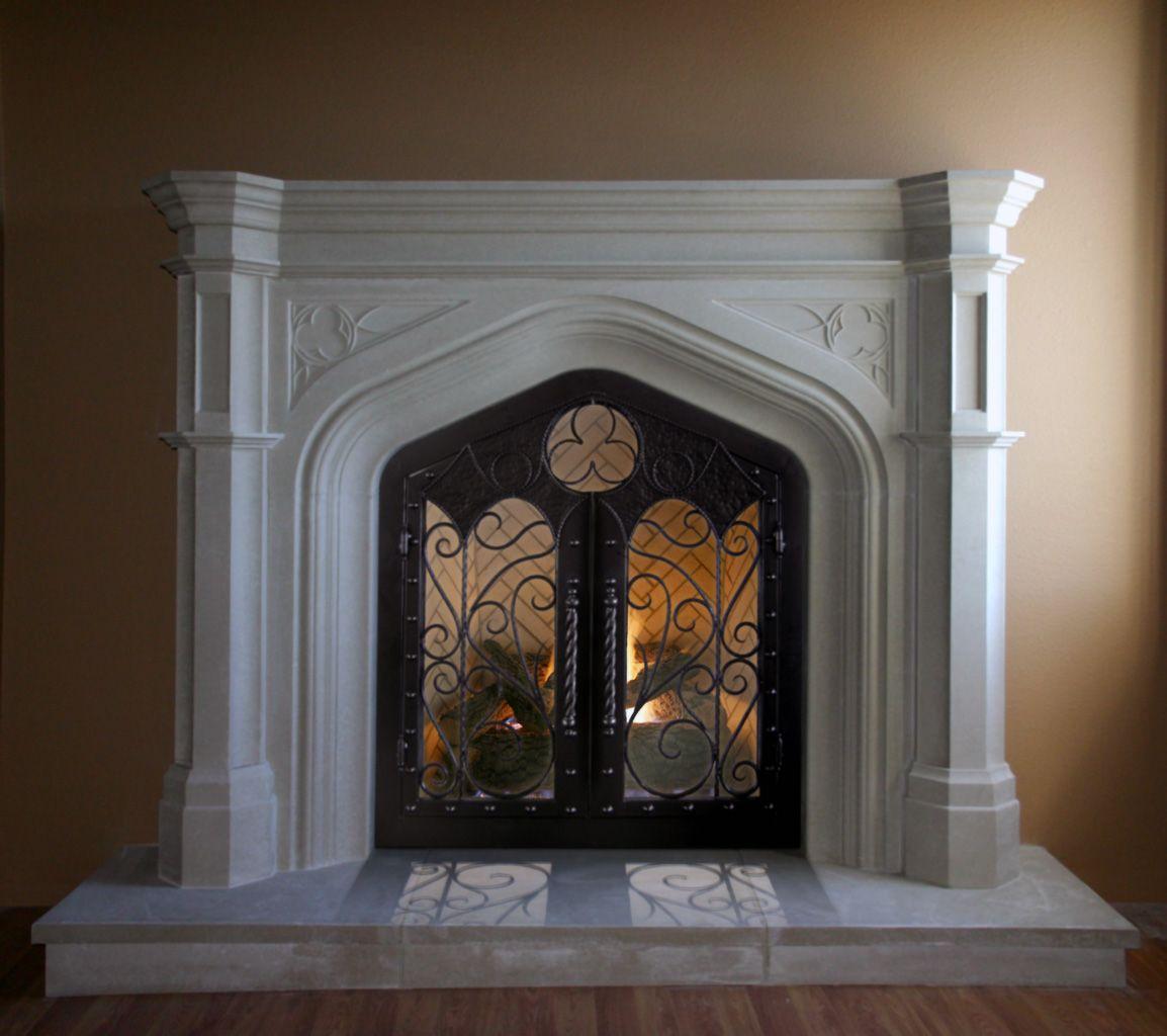 iron doors tudor homes | Custom Iron Doors for Our Custom Mantels ...