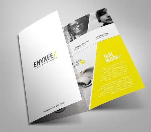 brochure design inspiration 20 elegant tri fold brochures multy