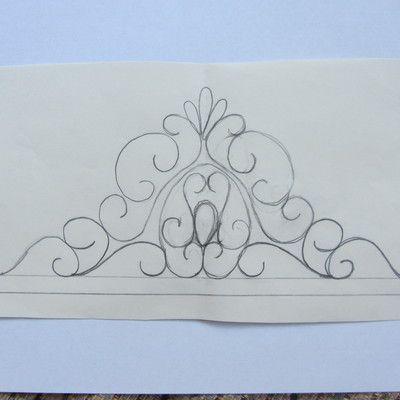 15 Royal Icing Tiara Patterns Fit For A Princess Krone Vorlage Blutenpaste Motivtorte