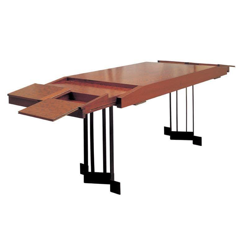 Bureau Art Dco en mtal et en bois par Pierre Chareau Maison