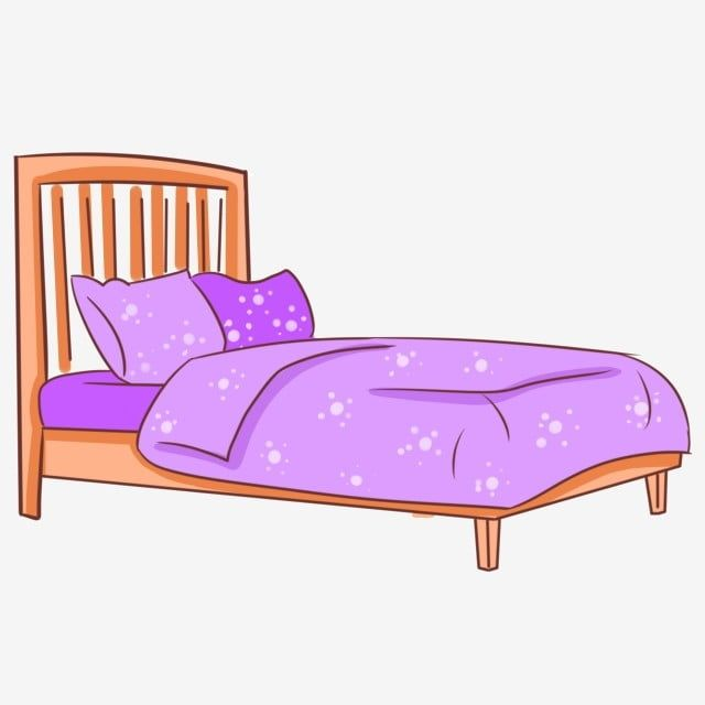 Cartoon Soft Light Bed, Bedroom Clipart, Cartoon, Soft PNG Transparent Clipart Image and PSD File for Free Download