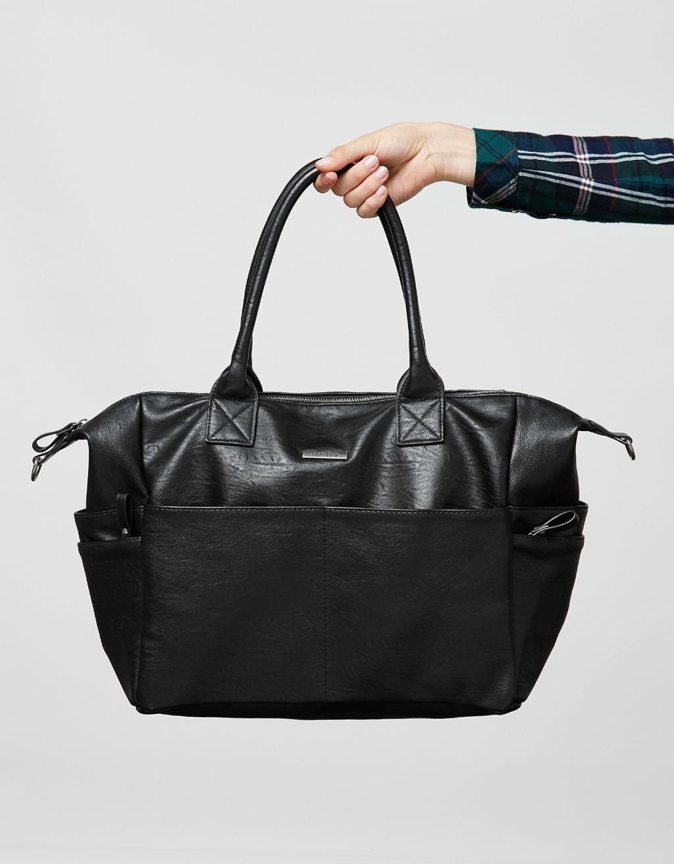 Weekend bag - Bags - Bershka United Kingdom  d658eda4098cd