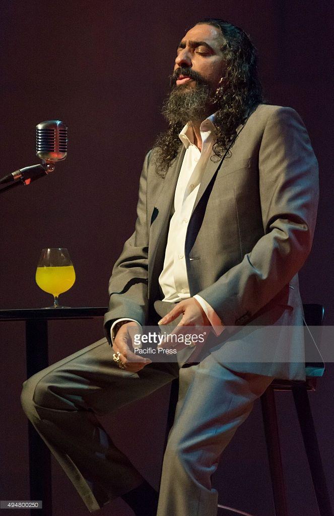 Diego el Cigala Diego el Cigala, the famous flamenco singer sings