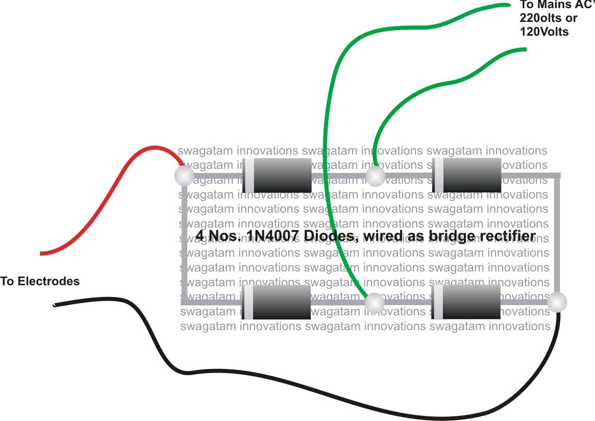 how to make 1n4007 bridge rectifier by using four 1n4007 diode how to make 1n4007 bridge rectifier by using four 1n4007 diode