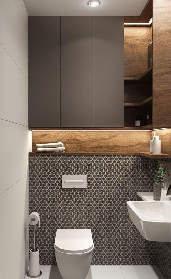 30 Cool Bathroom Lighting Ideas 2020 For Your Stylish Bathroom Popular Bathroom Designs Stylish Bathroom Bathroom Tile Designs