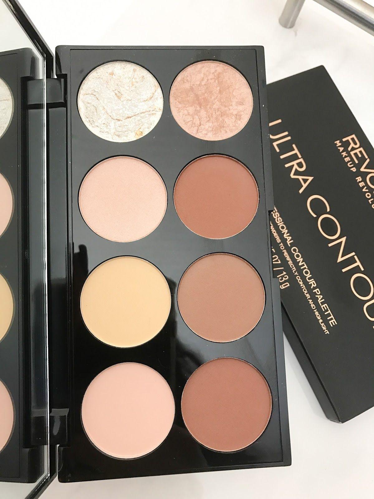 Makeup Revolution Ultra Contour Palette Review Contour