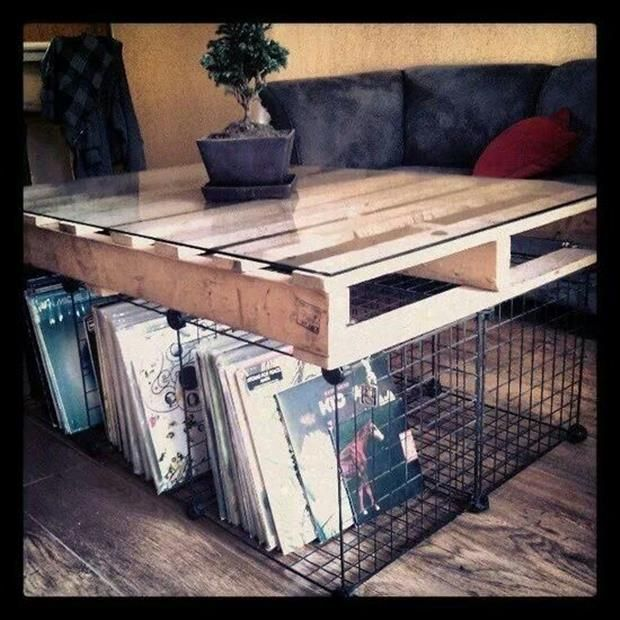amazing uses for old pallets 33 pics couchtisch aus. Black Bedroom Furniture Sets. Home Design Ideas