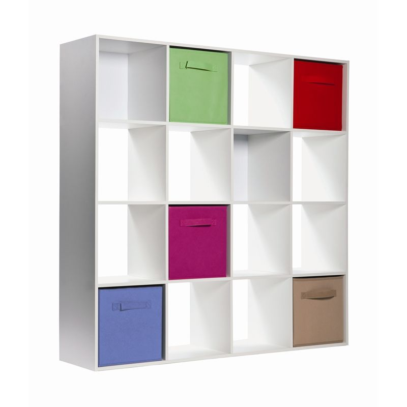 Clever Cube Compact 12mm 1208x1208x295mm White 4x4 Storage System
