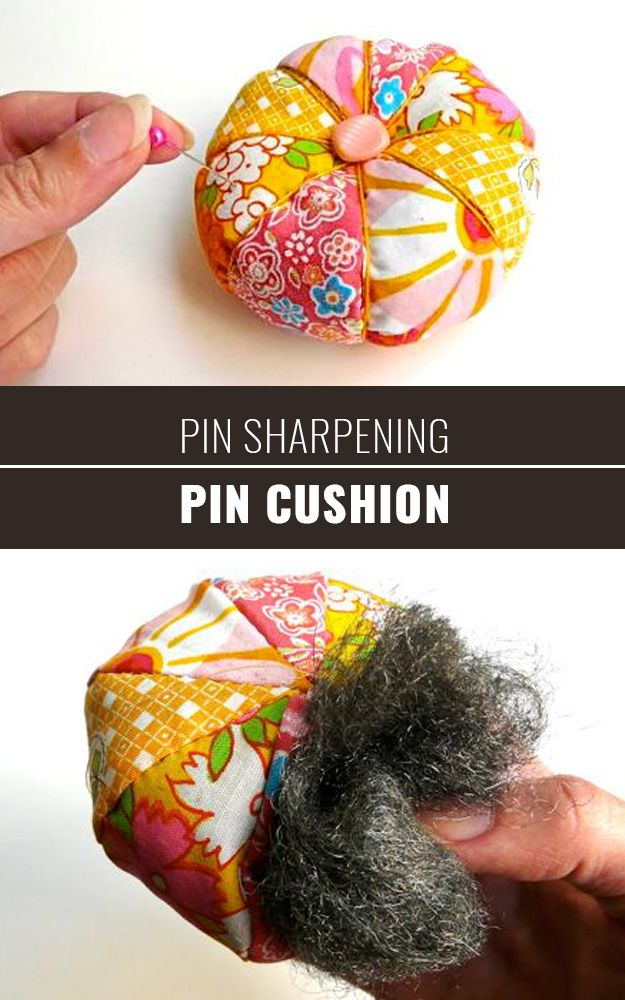 37 Sewing Hacks You\'ll Wish You Knew Before Now... | Pincushions ...