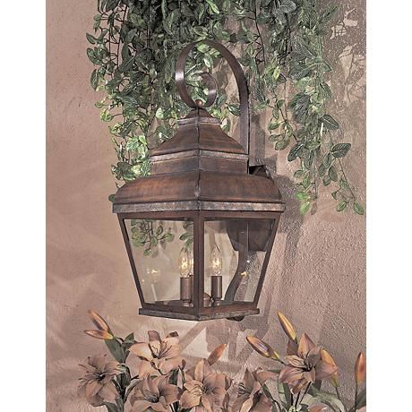 Mossoro Collection 22 3 4 High Outdoor Wall Light 20766 Lamps Plus In 2020 Outdoor Walls Outdoor Wall Sconce Wall Lights