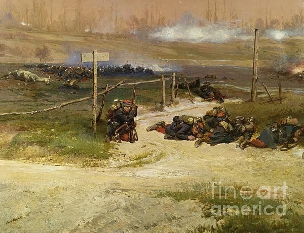 Warfare Print By Pg Reproductions
