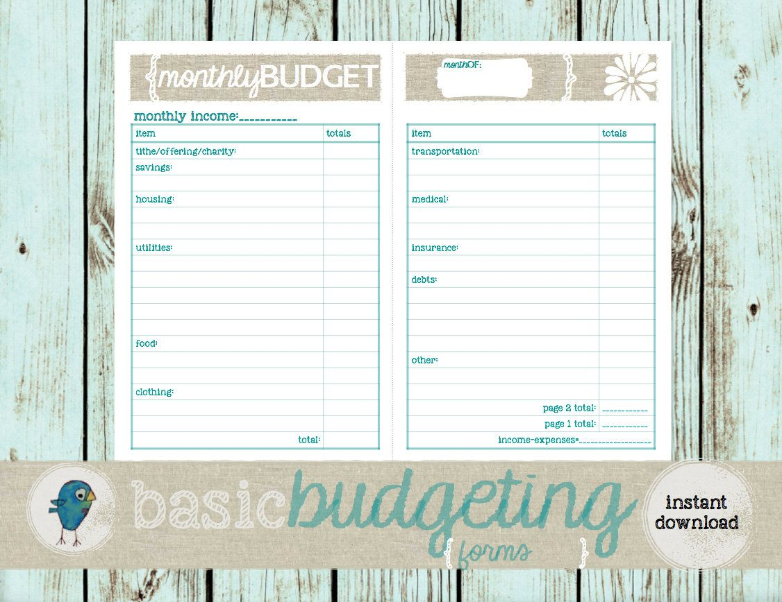 Manage your monthly expenses simply and beautifully with these ...