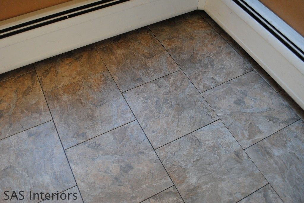 How To Install Groutable Vinyl Floor Tile Subway