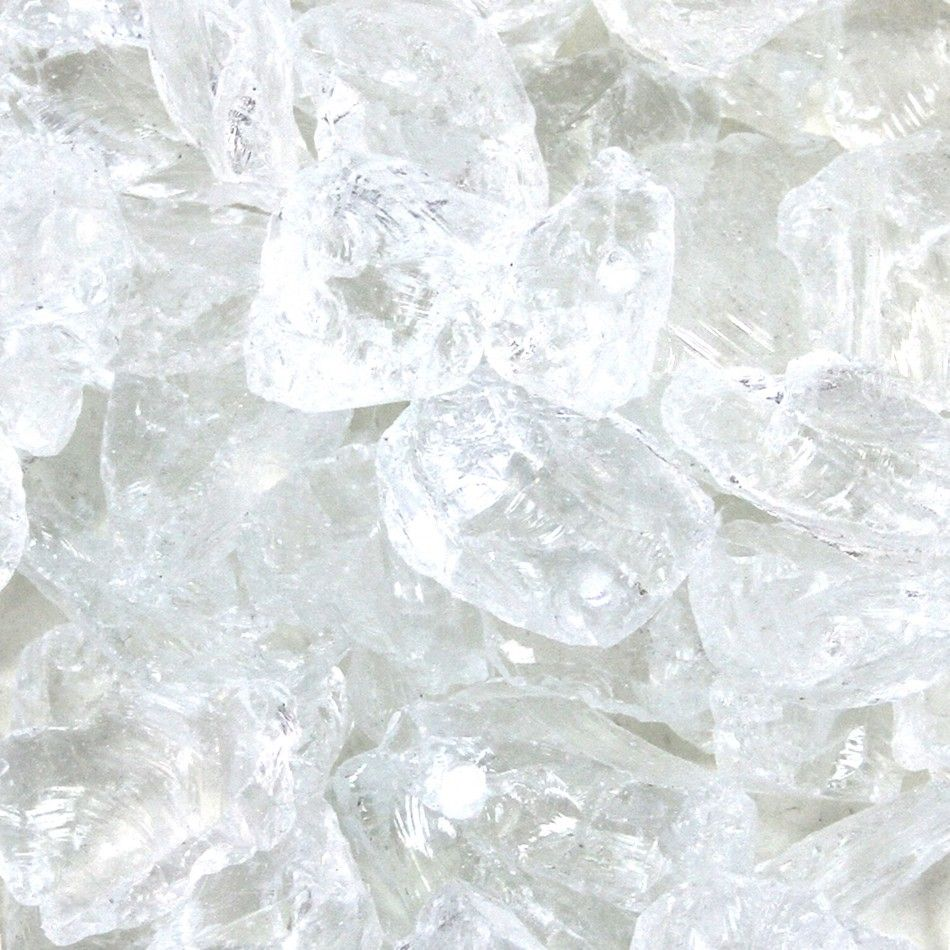 Crushed Glass Vase Fillers - Clear [424257] : Wholesale Wedding ...