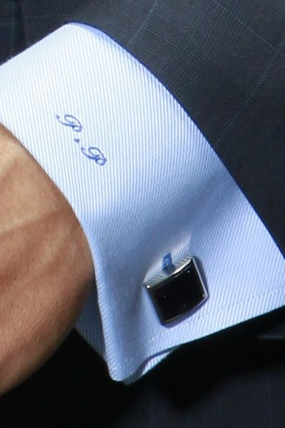 French Cuff With Monogram Well Dressed Men Monogrammed Cuff Cufflinks