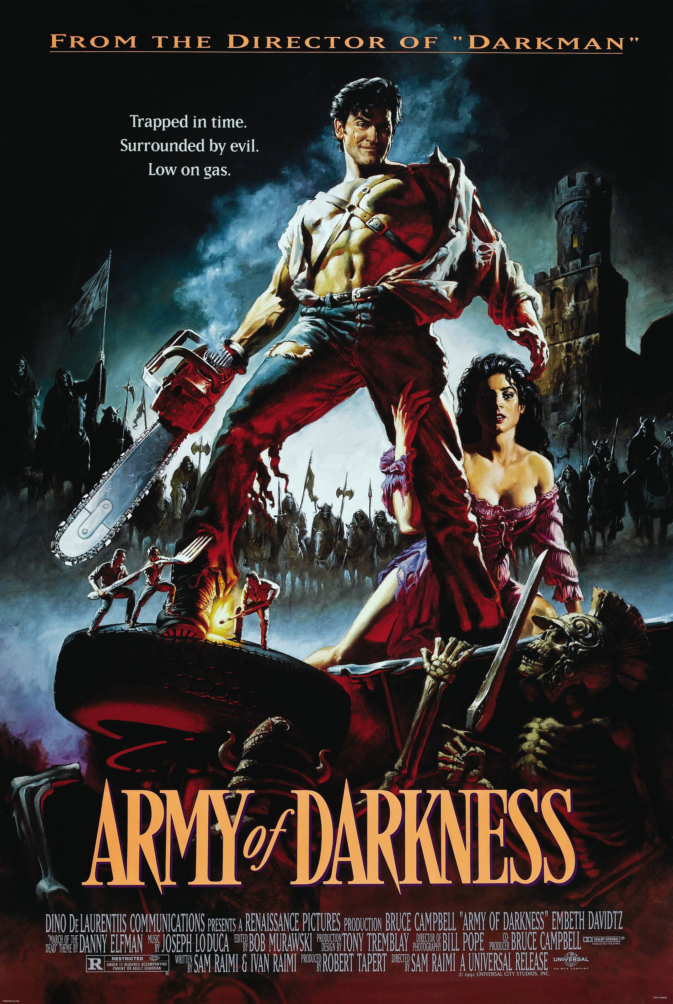 Army of Darkness, 1992, Directed by Sam Raimi