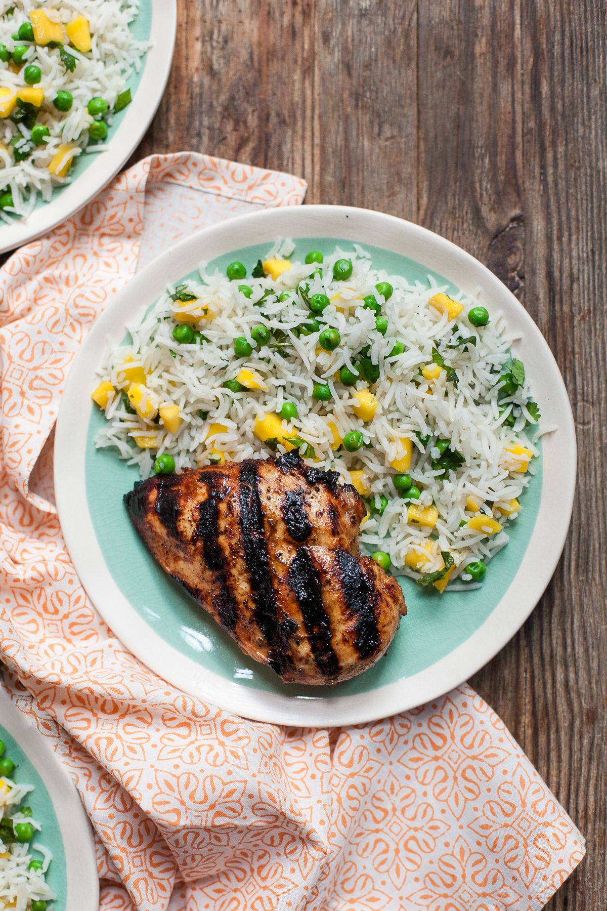 Once You Know How To Cook Rice On The Grill, This Marinated Mango Jerk  Chicken