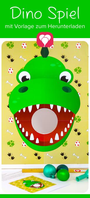 Diy Dino Spiel Kennst Du Schon Die Vielen Schönen Ideen Von Ballonas