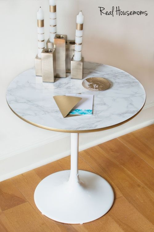 7 Home Decor Pieces To Update With Adhesive Contact Paper Diy