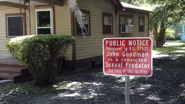 predator signs florida Sexual in