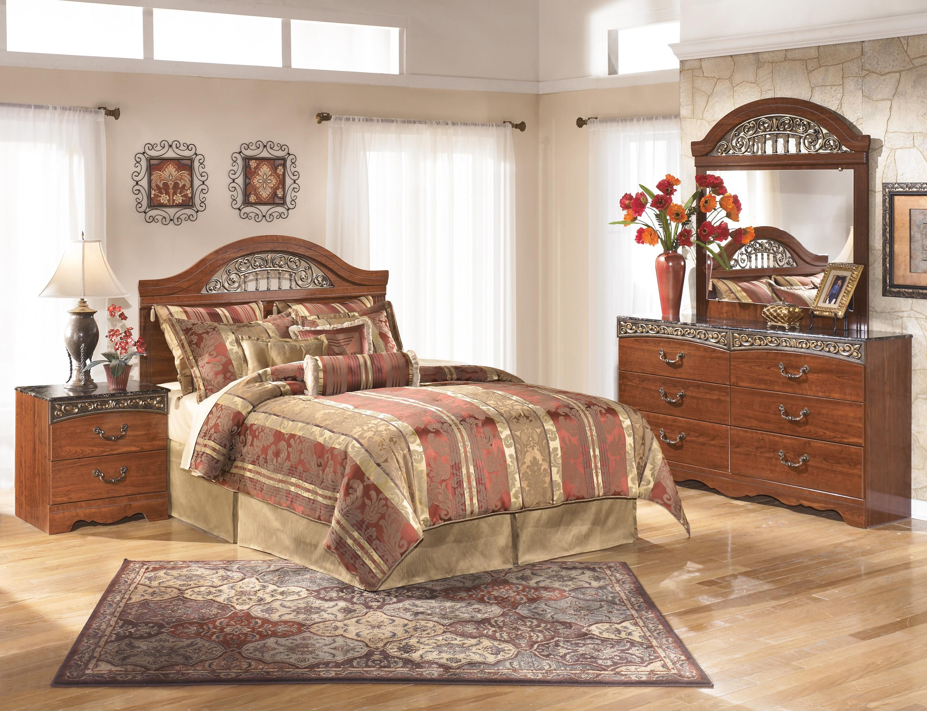 Nice Shop For The Signature Design By Ashley Fairbrooks Estate Queen Bedroom  Group At Furniture Mart Colorado   Your Denver, Northern Colorado, Fort  Morgan, ...