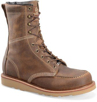 51317102fd5 Old Town Tan Double H Boot 8 Inch ST MocToe | Boots | Boots, Fashion ...